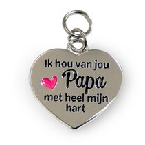 Charms for you - Bedeltje - Papa
