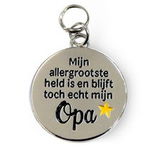 Charms for you - Bedeltje - Liefste opa