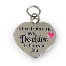 Charms for you - Bedeltje - Lieve dochter