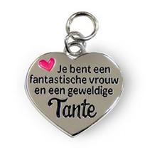 Charms for you - Bedeltje - Geweldige tante