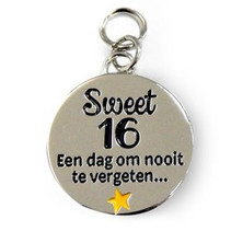 Charms for you - Bedeltje - Sweet 16