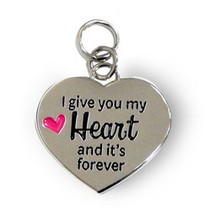 Charms for you - Bedeltje - I give you my heart
