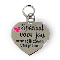 Charms for you - Bedeltje - Speciaal voor jou