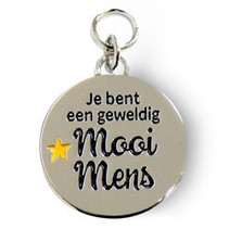 Charms for you - Bedeltje - Mooi mens