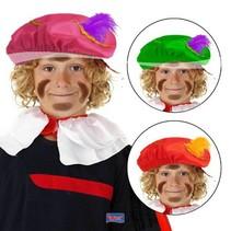 Folat - Piet baret - Stof - 1st. - Willekeurig geleverd