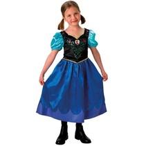 Rubies - Kostuum - Frozen - Anna - mt.116