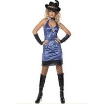 Smiffys - Kostuum - Pimp lady - Incl. handschoenen - M