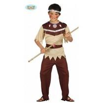 PartyWorld - Kostuum - Indiaan - mt.140