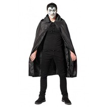 Partychimp - Cape - Dracula - Zwart - One size