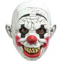 Partychimp - Head mask grinning clown