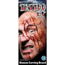 Partychimp - tattoo Carving board