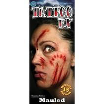 Partychimp - tattoo mauled
