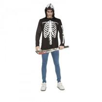 Partychimp - Volwassen Skelet Shirt - S