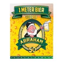 Paperdreams - 1 Meter bier kaart - Abraham