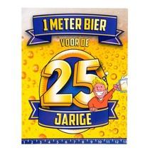 Paperdreams - Bier meter kaart - 25 Jaar