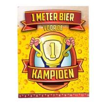 Paperdreams - Bier meter kaart - Kampioen