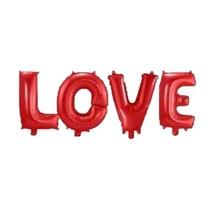 Folat - Folieballonnen - LOVE - Rood