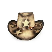 PartyXplosion - Cowboy - Hoed - Sterren - Zwart