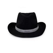 PartyXplosion - Cowboyhoed - Glitter - Zwart