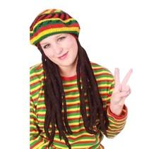 PartyXplosion - Muts - Bob Marley - Met dreadlocks