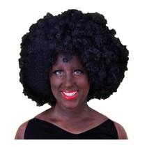 PartyXplosion - Pruik - Afro - Zwart