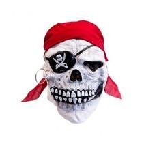 Witbaard - Masker - Piraat - Doodskop