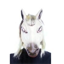 Witbaard - Masker - Paard - Lichtbruin