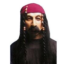 Witbaard - Masker - Piraat - Carribean