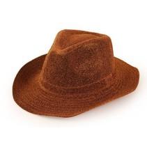 PartyXplosion - Cowboyhoed - Glitter - Goud