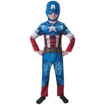 Partyxplosion - Captain America - 7/8 jaar