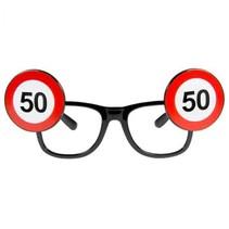 Folat - Bril - Verkeersbord - 50 Jaar