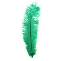 PartyXplosion - Veer - Zwarte piet - Floss - Groen - 30cm