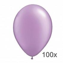 Festival Ballonnen - Metallic - Lila - 28cm - 100st.