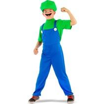 Folat - Kostuum - Loodgieter Luigi - mt.140/158