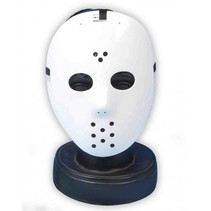 Partychimp - Hockey masker - Wit - Hardplastic