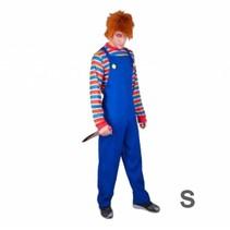 Partychimp - Evil puppet kostuum S