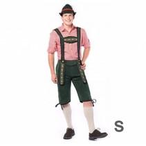 Partychimp - Kostuum - Tirolerbroek - Johann - Groen - S