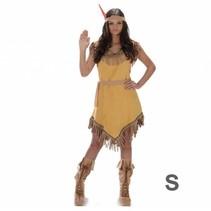 Partychimp - Kostuum - Indianenjurk - Geel - S