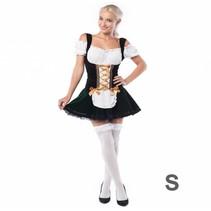 Partychimp - Kostuum - Tirolerjurk - Isa - S