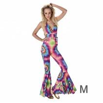 Partychimp - Kostuum - Hippie - Dames - M