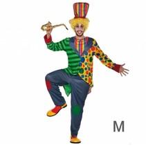 Witbaard - Kostuum - Clown Frac - M