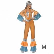 Smiffys - Kostuum - Discovrouw - Oranje - M
