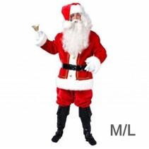 Partyxplosion - Kostuum - Kerstman - Luxe - M/L