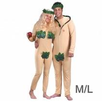 Fun World - Koppelkostuum - Adam & Eva - M/L