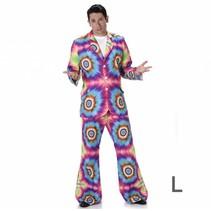 Carnival costumes - kostuum - Tie Dye Suit - L