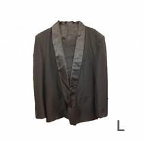 Bladwijzer - Kostuum - Luxe - Zwart - 2dlg. - L