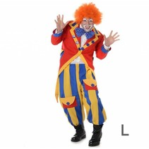 Partychimp - Kostuum - Clown - L