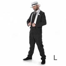 Partychimp - Kostuum - Gangster - Baas - L