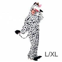 PartyXplosion - Kostuum - Koe - Pluche - L/XL