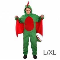 PartyXplosion - Kostuum - Draak - Pluche - L/XL